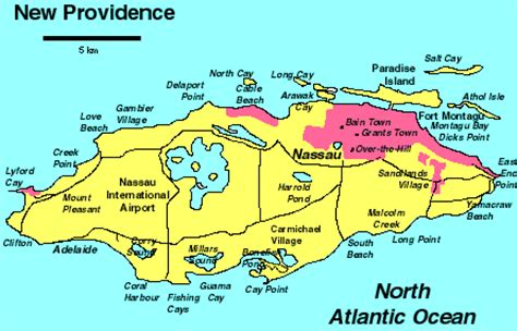 map of new providence new providence a cruising guide on the world cruising