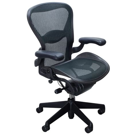 Herman Miller Chairs by Herman Miller Aeron Used Size B Task Chair Jade
