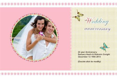 Happy Wedding Card Template by Happy Wedding Anniversary Card Template Software Free