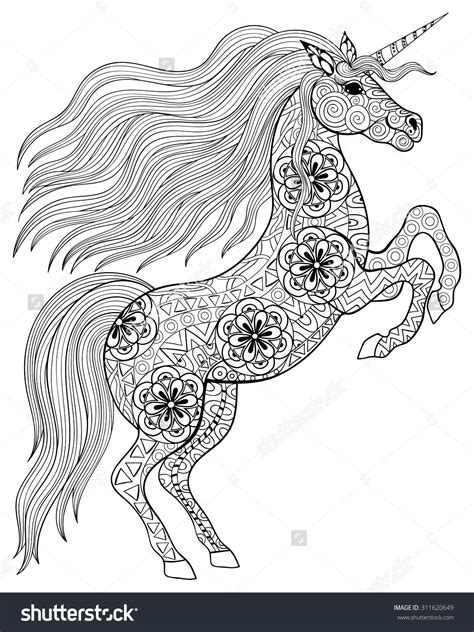 unicorn coloring pages for adults pin by ulrica flodin on 1a d z animals