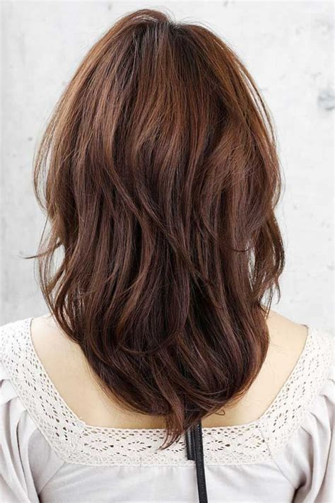 medium length v cut with layers 23 best haircut style images on pinterest layered