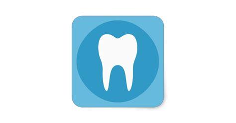 s logo blue and white blue and white tooth logo dentist dental modern square