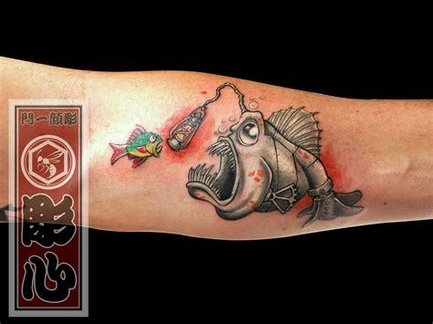 angler fish tattoo horishin angler fish angler fish l