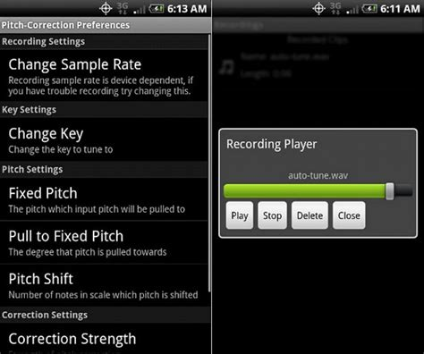 Auto Tuning Your Voice by 15 Best Auto Tune Apps For Android Ios Free Apps For