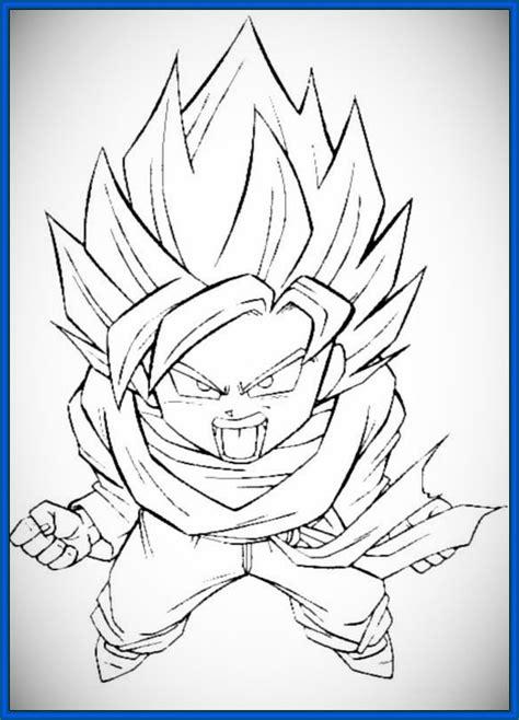imagenes de goku gt para colorear dragon ball gt para colorear gohan archivos dibujos de