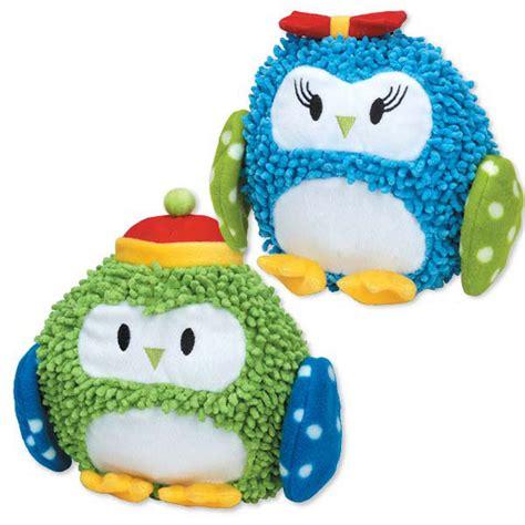 zanies pole pals moppy toys pet owl plush