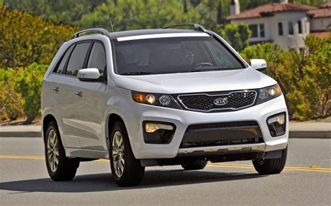 Kia Packages 2013 Kia Sorento Unveiled New Equipment And Packages