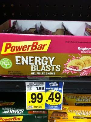 whoa better than free power bars at kroger kroger mega event free power bar bites