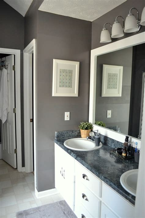 marquee bathrooms use paint to create a fresh start in your home this year