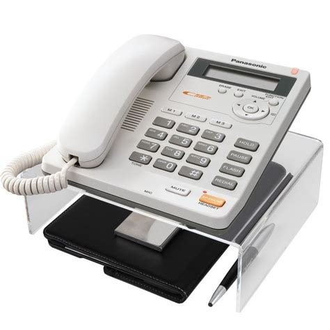 Desk Phone Stand For Easy Organization Desk Telephone Stand