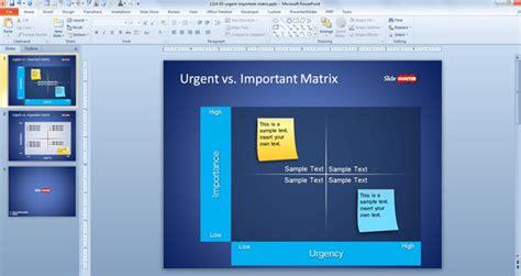 Free Urgent Vs Important Matrix Template For Powerpoint Free Powerpoint Templates Powerpoint Theme Vs Template