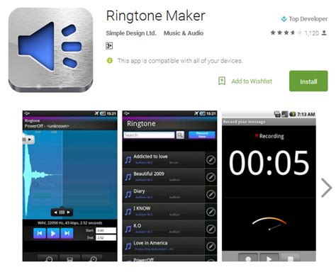 ringtones maker for android phone 10 best ringtone apps for android 2017 andy tips