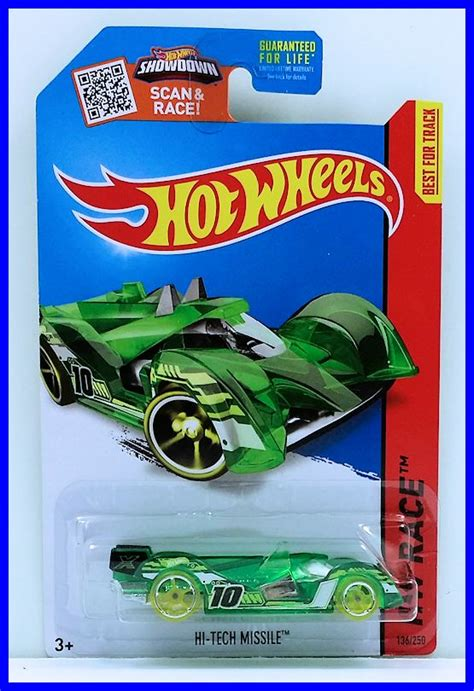 Wheels Hi Tech Missile Krom hi tech missile model racing cars hobbydb