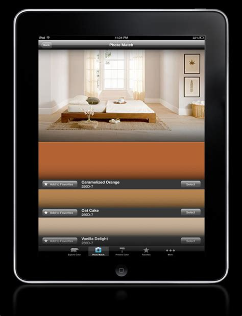 behr colorsmart app on behance