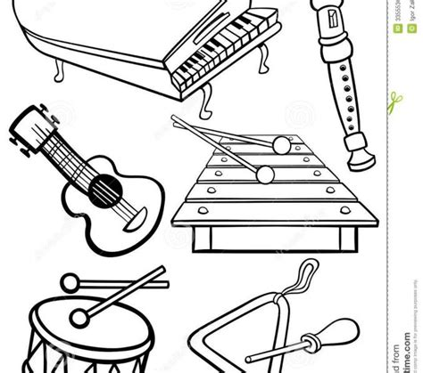free printable coloring pages musical instruments percussion family coloring page coloring coloring pages
