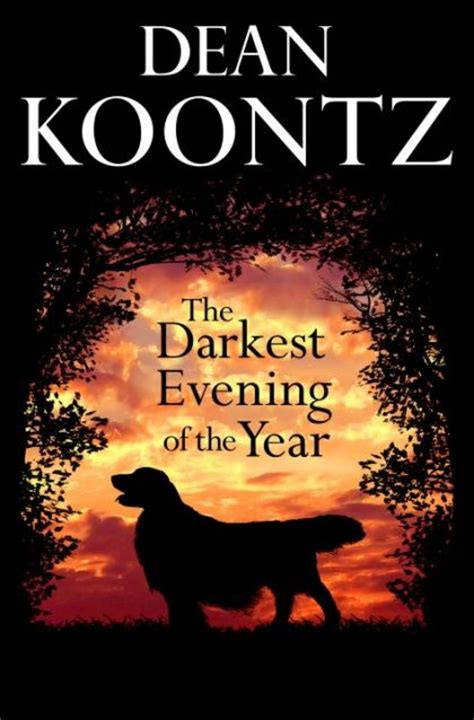 dean koontz golden retriever dean koontz the darkest evening of the year 9780553804829 on collectorz books