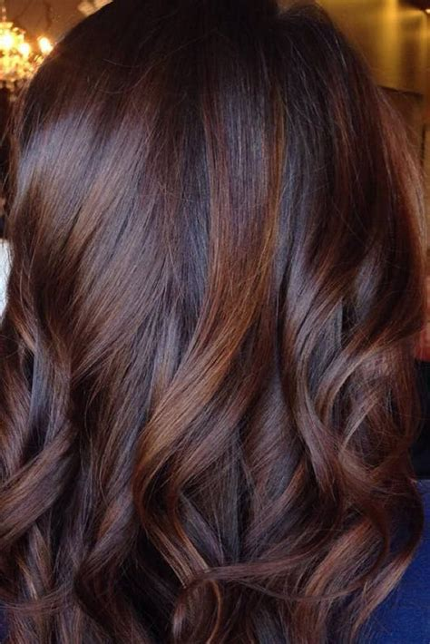 what is haircolor when bottom is darker than top resultado de imagem para chocolate mocha brown hair
