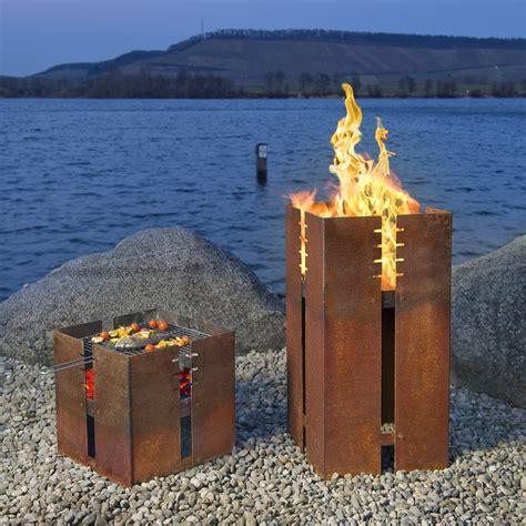 feuerstelle fidibus keilbach in rostoptik - Feuerstelle Rostoptik