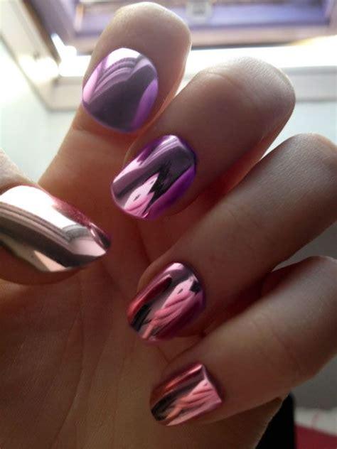 Metallic Nail Polishes by 31 Amazing Metallic Nail Designs Nail Designs For You
