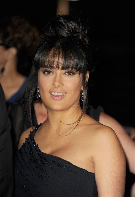 hairstyles inventory a kevin ventura more pics of salma hayek classic bun 1 of 4 updos