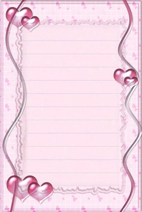 Modèles De Papier à Lettre Gratuit Cartes Gratuites