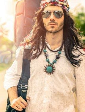 mens hippie hairstyles 17 best images about men bandanas headbands on pinterest