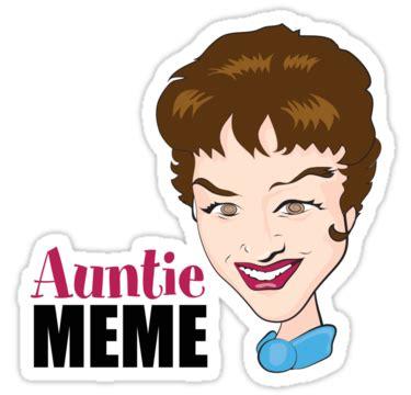 Auntie Meme - quot auntie meme quot stickers by auntiememe redbubble