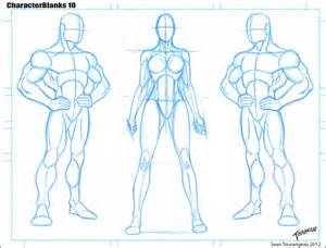 Anime Character Template by Best Photos Of Blank Anime Templates Character