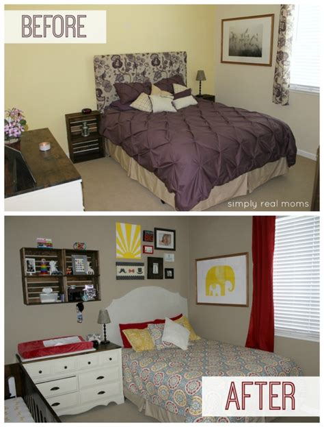 2013 Bedroom Ideas combining a modern nursery with a guest room