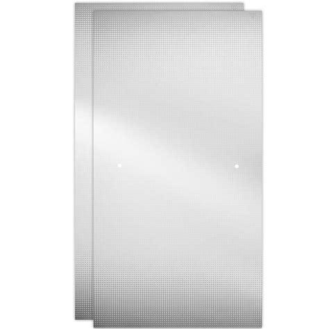 bathtub glass panels delta 60 in sliding bathtub door glass panels in droplet