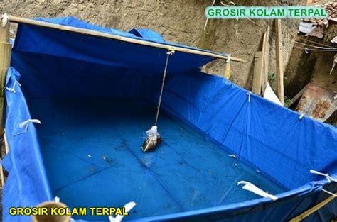 Harga Kolam Terpal Gurame cara membuat kolam terpal di atas tanah agro terpal