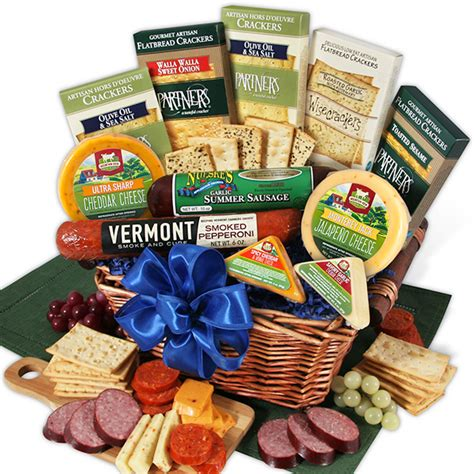 Unique Housewarming Gift Ideas by Gourmet Meat Amp Cheese Sampler Deluxe By