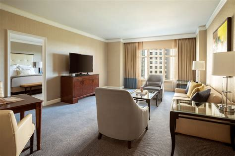 living in a hotel room deluxe suite in dallas texas the ritz carlton dallas