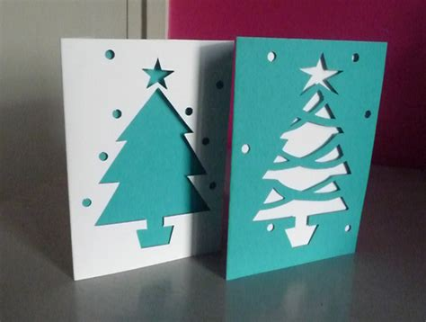 claire gallagher drawing paper cut christmas cards