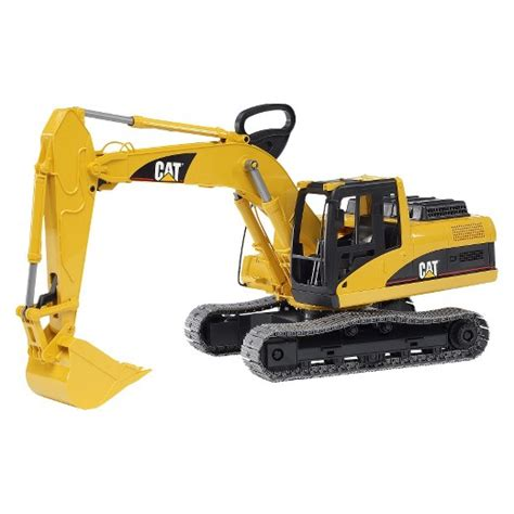 Lego Alat Berat Bruder Toys Caterpillar Excavator Target