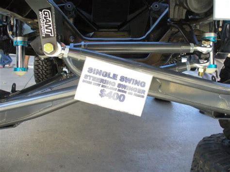 swing set steering giant motorsports 187 2wd single swing steering arm