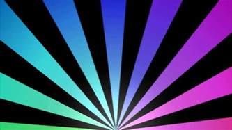 rotating stripes background animation loop rainbow