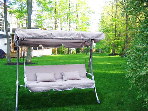 swing canopy cover new garden outdoor swing canopy cover top replacement
