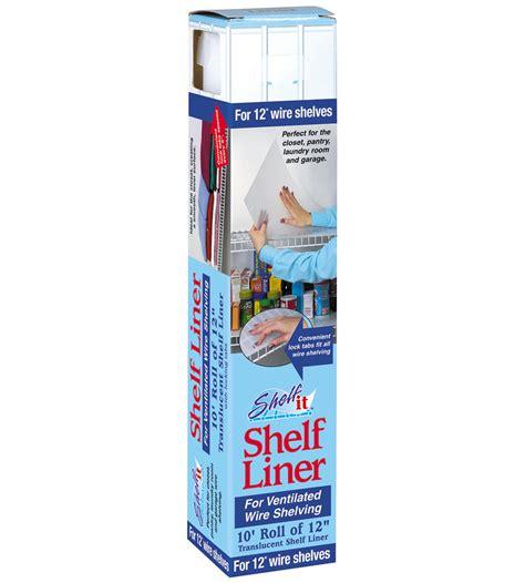 Shelf It Shelf Liner shelf liner for wire shelving 10 foot roll in shelf and