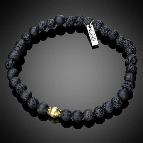 mens lava bracelets lava bead bracelet image of bracelet