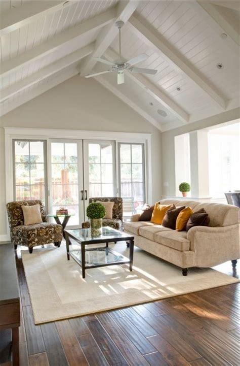 the pitched roof living room paint