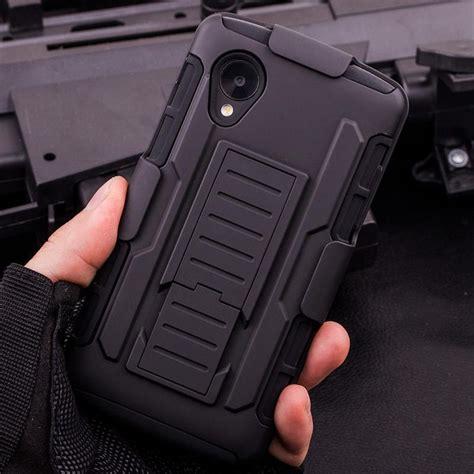 Lg Nexus 5 D820 Hardcase Future Armor Dual Bumper Cover Belt for lg nexus 5 d820 d821 future armor robot