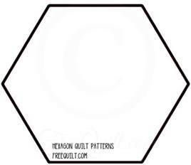 hexagon templates for quilting free hexagon quilt patterns to print