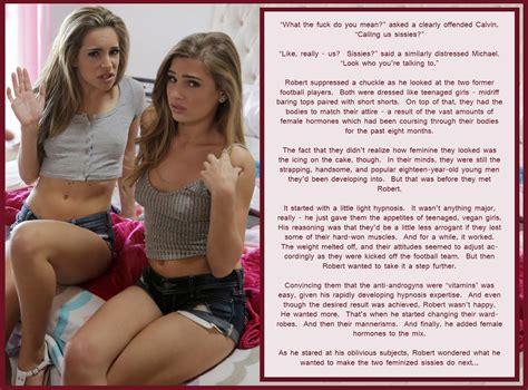 sissy hrt captions the feminization station tg and sissy captions hypnotized