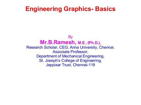 engineering graphics basics
