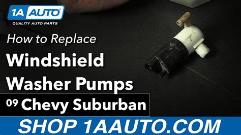 how to change a windshield washer pump on a 1997 geo metro how to replace install windshield washer pumps 2009 chevy