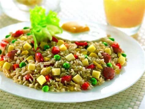 resep membuat nasi goreng vegetarian resep membuat nasi goreng vegetarian enak sehat
