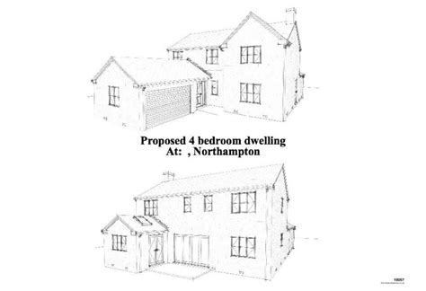 House Design Drawings Uk Exle Building Plans Developer 4 Bedroom Detached House