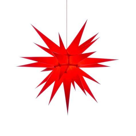 weihnachtsstern mit beleuchtung herrnhuter weihnachtsstern i7 rot mit beleuchtung