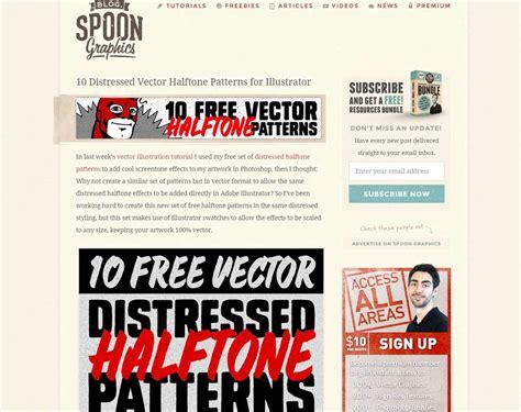 10 distressed vector halftone patterns for illustrator la semaine en pixels 26 juin 2015 st 233 phanie walter